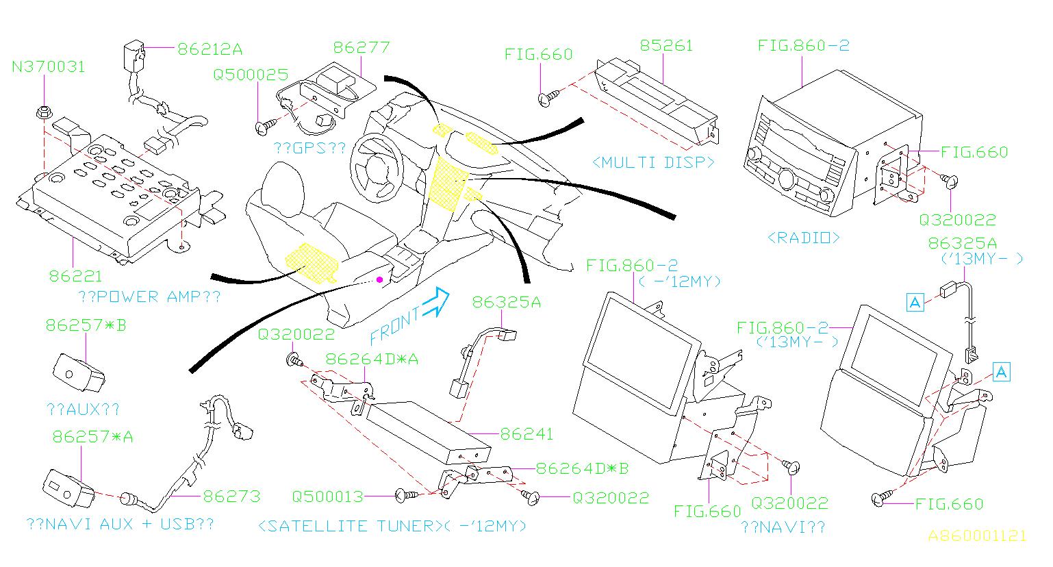 Subaru Outback Radio Wiring Harness