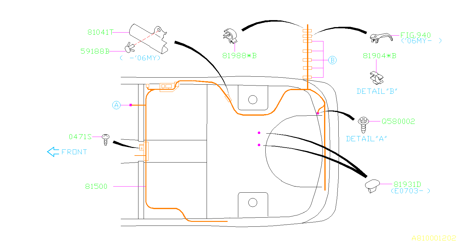 Subaru Forester Wiring Diagram And Cable Routing Circuit Wiring
