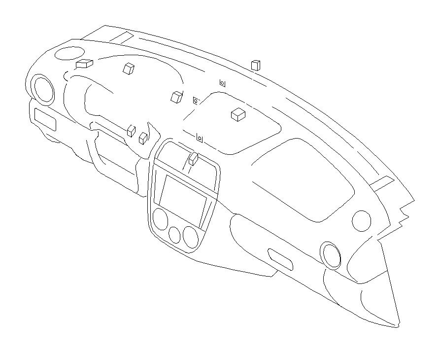 Subaru Impreza Harnessinstrument panel    Wiring